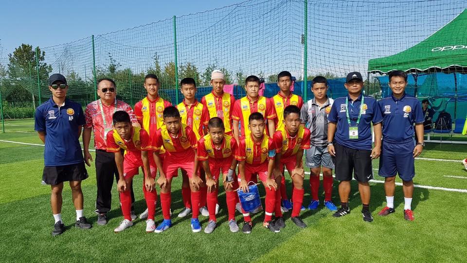 ขอแสดงความยินดีกับทีมฟุตบอลโรงเรียนสันกำแพง รุ่นอายุ 14 ปี